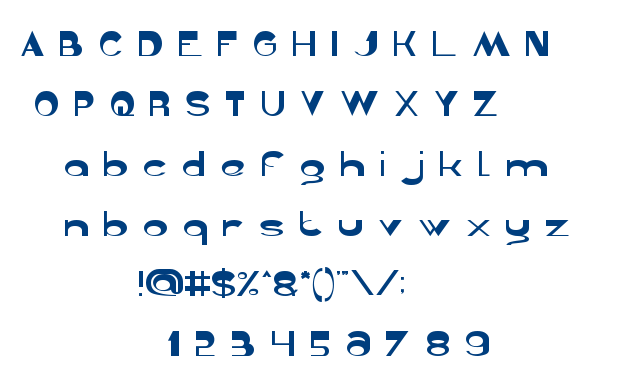 Gelombang radio font