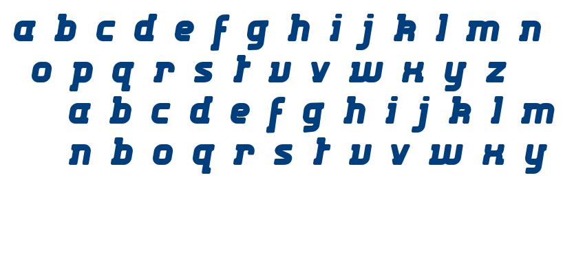 Kabys font