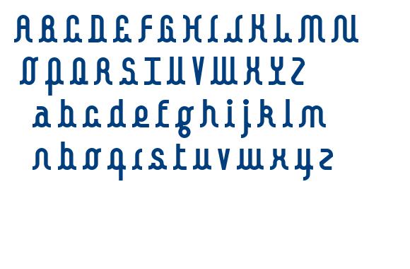 Kamalo bold font