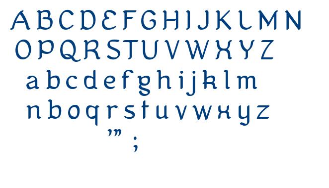 Kanis font