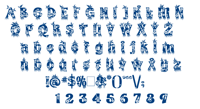 Kingthings Annexx font