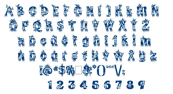Kingthings Annexx font