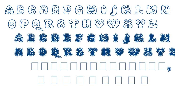 Kingthings Kurllie font