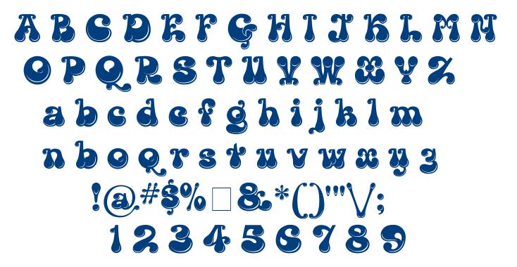 Kingthings Lickorishe font