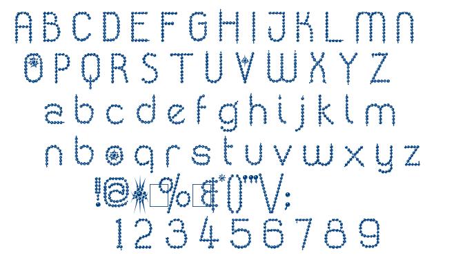 Kingthings Poppalok font