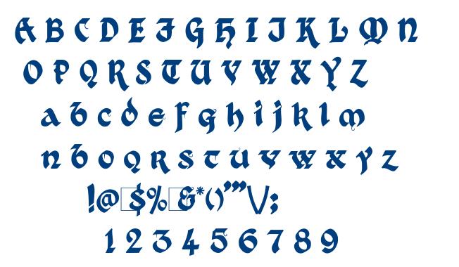 Kingthings Xander font