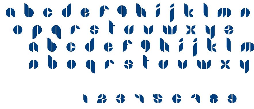 Lamia font