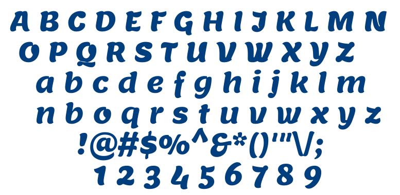 Lemon font