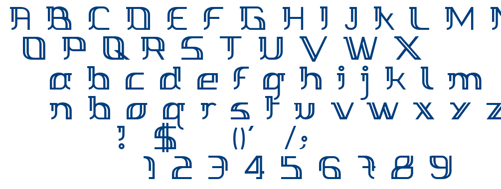 Margarette font