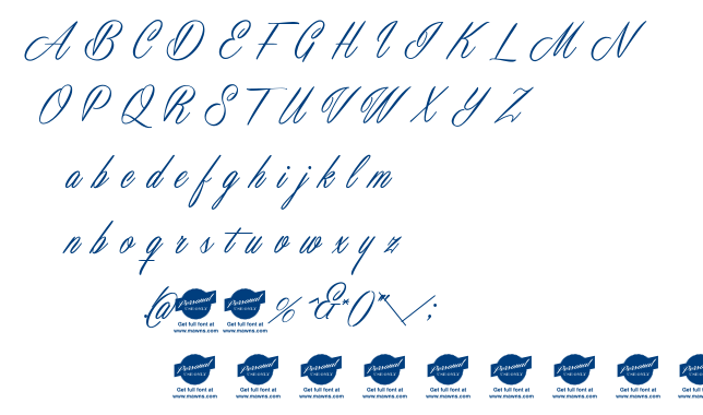Masterics font