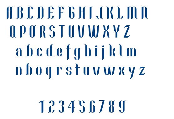 Nallo font