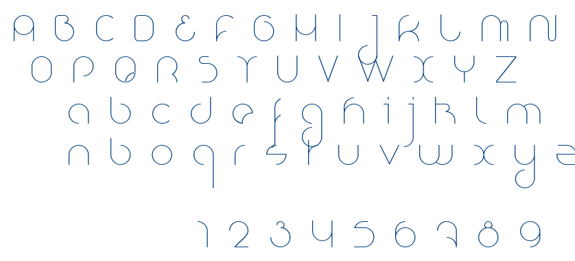 Nioubes Light font