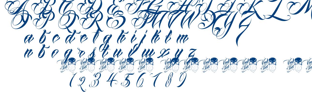 Queen Anha VMF font