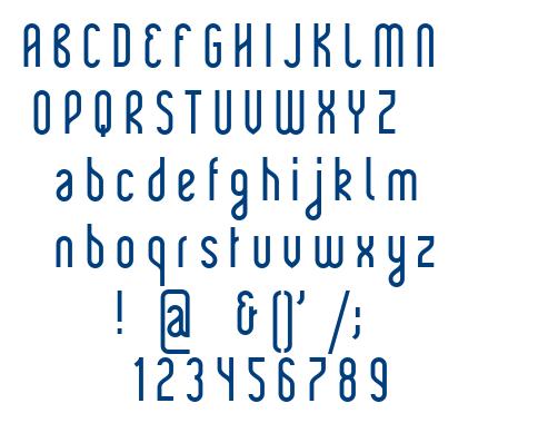 Rajkeys font