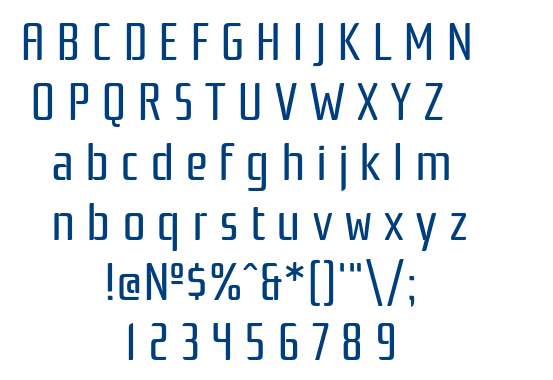 Rationale One font