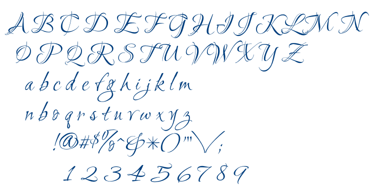 Ruthie font