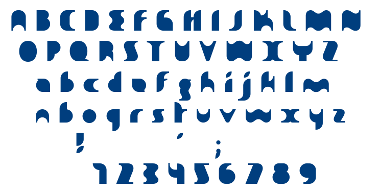 Sakiane font