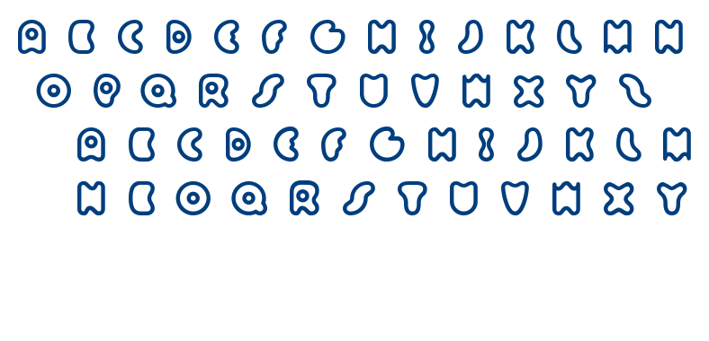 Sixty Queens font