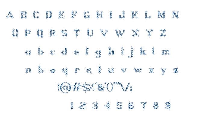 Tribou font