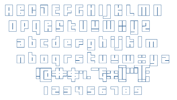 Tutor font