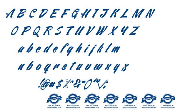 Ventography font