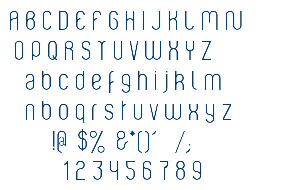 Violette font
