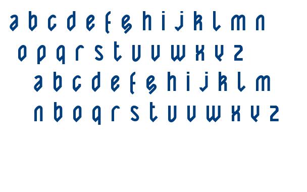 Yatis black font