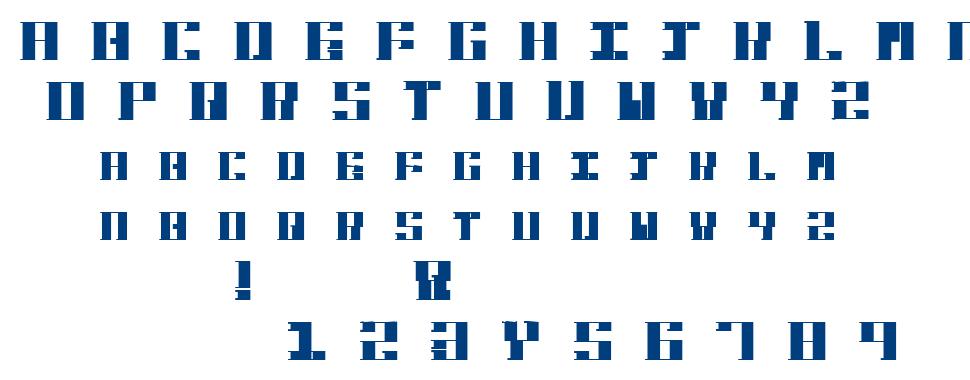 Hardbaq font