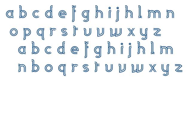 Linea font
