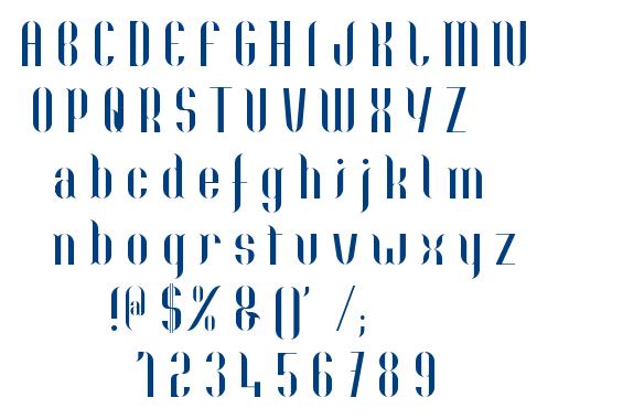 Nolla font