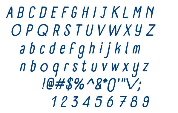 Panforte font