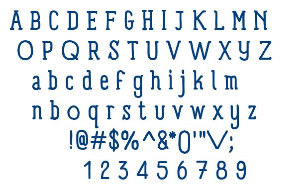 Panforte Serif font