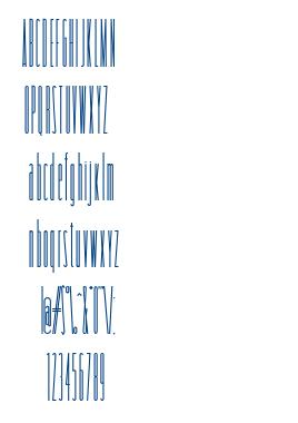 Tollest font