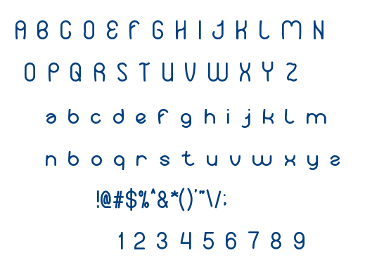 Your Smile font