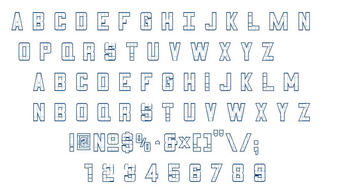 3×5 font