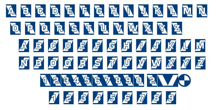 AIRLOCK font