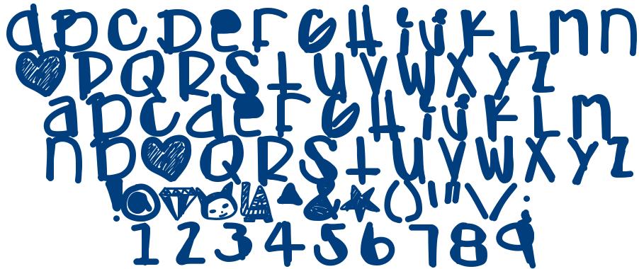 Adamski Hand font
