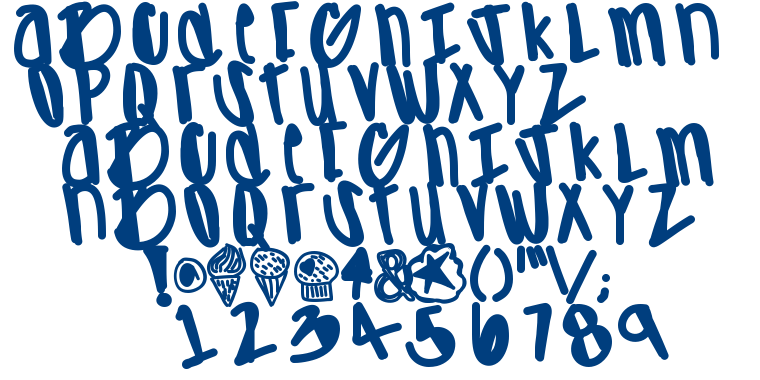 Apreciated font