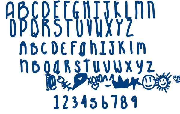 Aquarious font
