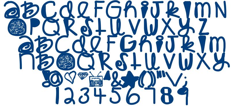 Babaganoosh font