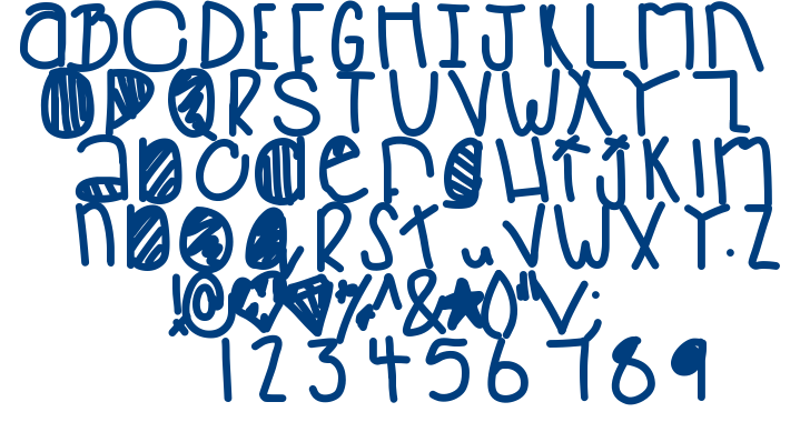 Baboo In Space font