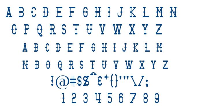 Bantorain font