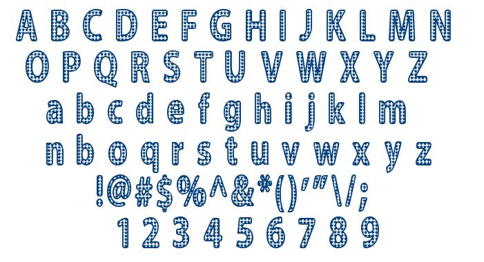 Blinger font