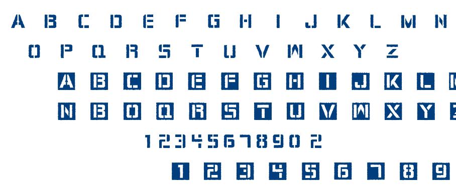 Cargo Bay font