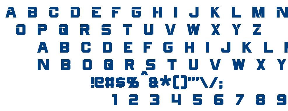 Cyberfall font