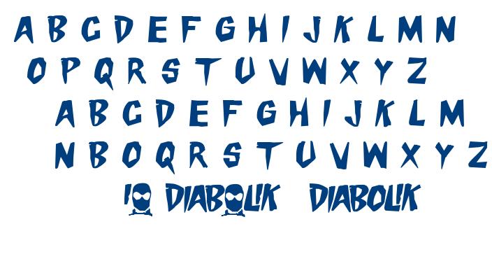 Danger Diabolik font