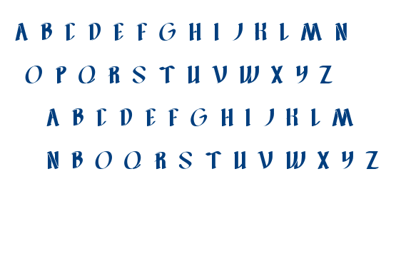 FILLET O FISH font