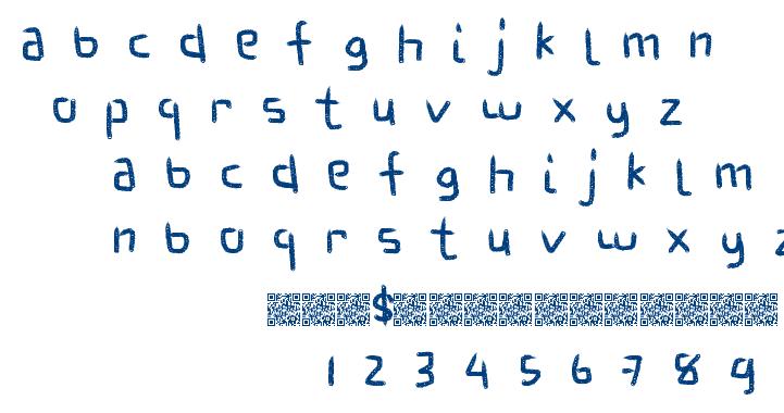 Fantastic Habits font