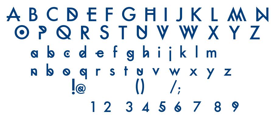 Futura Custom font