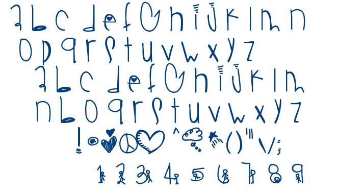 Gold mine font